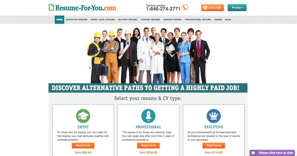 Resume-For-You.com review