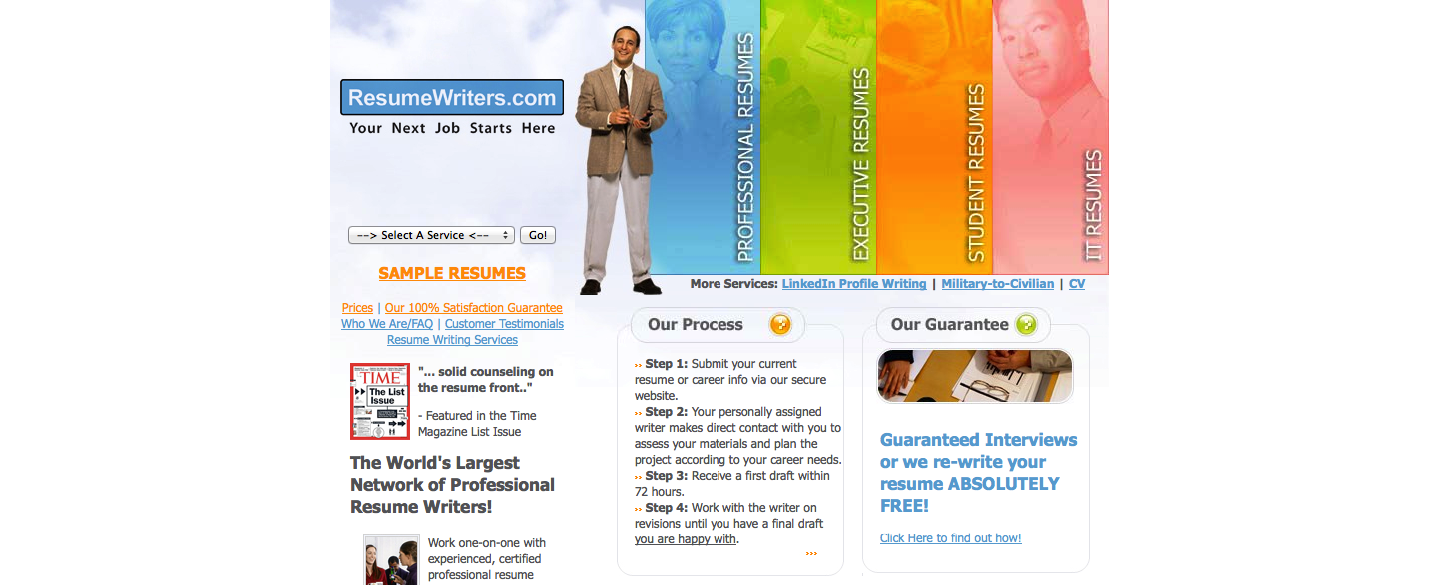 resumewriters com resume writing service review